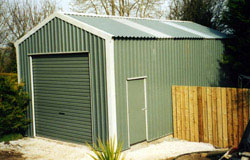 steel sheds from finnish sheds moylough county galway