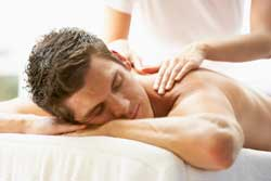 Back massage at Tuam Therapy Centre