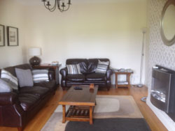 Sitting room at Dormer View Self Catering near Tuam County Galway Ireland