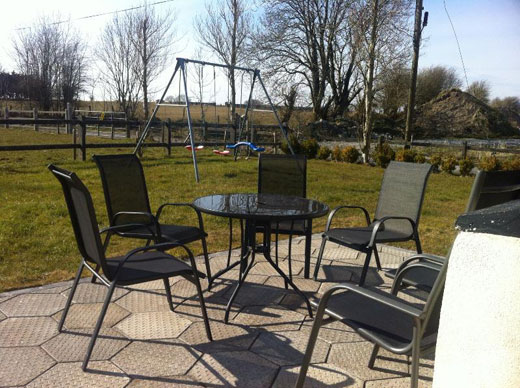 Garden at Dormer View Self Catering near Tuam County Galway Ireland
