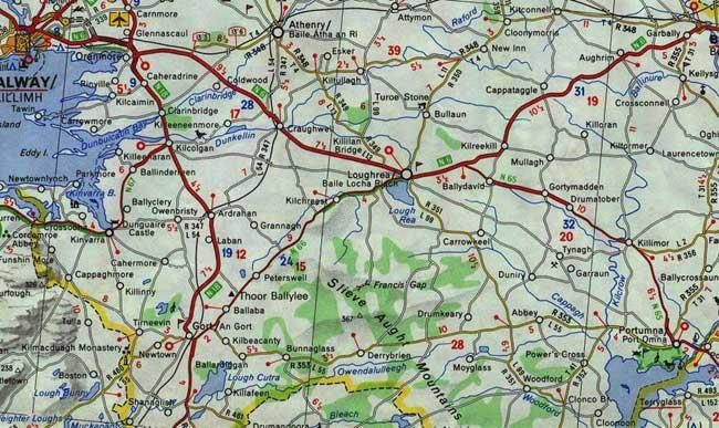 Maps Tuam Maps Galway Maps County Galway Tuaim Galway Tuaim Ireland
